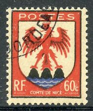 STAMP / TIMBRE FRANCE OBLITERE N° 758 BLASONS ARMOIRIE NICE