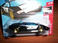 LAMBORGHINI COUNTACH-POLICE - HOT WHEELS - SCALA 1/55