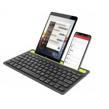 Clavier Bluetooth Pour Smartphone Tablette Support sans Fil Rechargeable Q-812