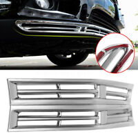 2PCS Bumper Fog Light Chrome Cover Grille Trim For Toyota 2014-2016  @ P