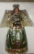 Jim Shore 2012 Prepare for Christmas Joy Christmas Angel with wreath 4027719 NIB