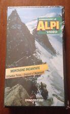 CS17> FILM VHS - Conoscere le Alpi - Il Canton Ticino, i Grigioni   - SIGILLATO