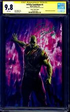 Infinity Countdown #3 VIRGIN VARIANT CGC SS 9.8 signed Dave Bautista DRAX WWE