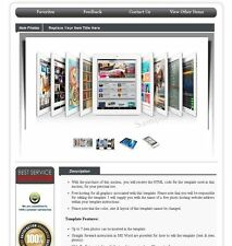 eBay HTML Auction Template Listing Seller Tool - No Active Content Version RS2
