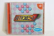 NEW Get Colonies Puzzle Factory Sealed SEGA Dreamcast DC Japan Import US Seller