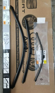 2016-2018 Audi Q7 FRONT + REAR Windshield WIper Blades - GENUINE FACTORY OEM