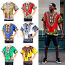 Men's Women's African Dashiki Shirts Dress Boho Hippie Kaftan Festive Clothing