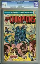CHAMPIONS #2 CGC 9.6 WHITE PAGES