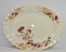 "Vintage SPODE China England FAIRY DELL Pattern #2/8093 15"" Oval Serving Platter"