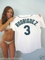 Alex Rodriguez signed autograph autographed Mariners authentic Majestic 3 jersey