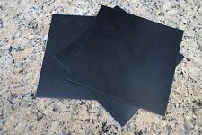 "Set Of 3 Neoprene Rubber Gasket Plumbing Sheets Black 6""x6""x3/32"" Level Bumpers"