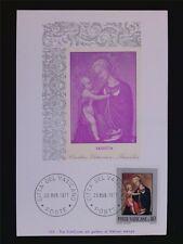 Vatican MK 1971 MADONNA & CHRIST Painting Maximum Card Maximum Card MC cm c6265