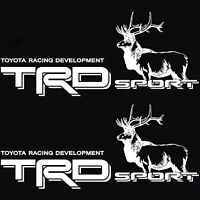 TOYOTA TACOMA TRD SPORT BED DECAL STICKER TUNDRA TRUCK BULL ELK 4X4 OFF ROAD