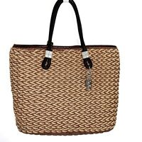 Brighton Straw Tote Handbag Purse