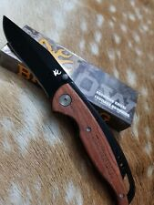 Browning USA Folding Pocket Knives x 4 Hunting Camping Fishing Stainless Blade