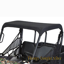 BLACK CANVAS ROOF TOP for 2016-2017 POLARIS RANGER 570 FULL-SIZE & 6x6 & 800 EFI