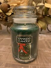 Yankee Candle Large 22 Oz Classic Jar - Christmas Wreath