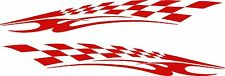 "Vinyl Decals Racing Flames Vehicle Car Truck Kart Boat Graphics Stickers 50"""