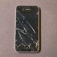 Apple iPhone 4 16GB Black A1349 Verizon Damaged Screens
