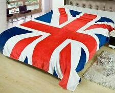 British Union Jack Flag Design Mink Sofa Bed Picnic Throw Blanket Summer 150x200