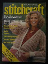 Stitchcraft Magazine: February 1979, No 542, Family Patterns,  + Other Crafts