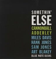 CANNONBALL ADDERLEY - SOMETHIN' ELSE  VINYL LP NEW+
