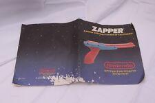 Nintendo NES Zapper Manual