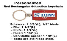 Six Function Keychain with Personlization