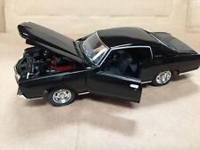 1:24 1970 Chevy Monte Carlo SS454 Black by Saico without box