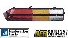 OER 1978 1979 1980 1981 Camaro Z28 Tail Light Lens- LH Driver Side ***NEW***