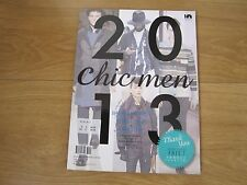 Chic Men Fashion Magazine Autumn / Winter 2013 New.