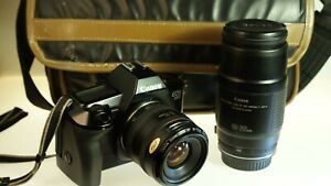 Canon EOS 650  35-70mm + 100-200mm