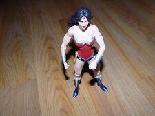 """DC Comics 2012 Justice League Wonder Woman 7"""" Action Figure Toy Doll EUC"""