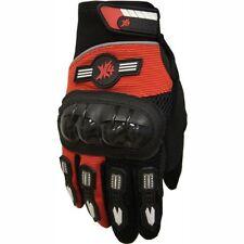 Motorcycle Power sports ATV Motocross Dirt Bike Street Bike Gloves Orange/Black