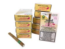 Nirdosh 10 pacchetti di sigarette alle erbe con filtro - Per smettere di fumare