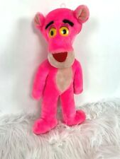Vintage 1992 Pink Panther Plush Mighty Star 17 inch Stuffed Animal Toy
