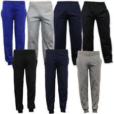 niños pantalones para niño colegio GIMNASIA Chándal Polar Forrados
