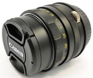 (AF Confirm) HELIOS 44m 58mm f/2 Lens M42 + Adapt. Canon EOS EF Mount Camera