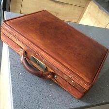 Men's Leather Laptop Friendly Suitcases