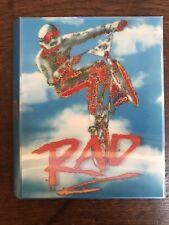 RAD 1986 VINEGAR SYNDROME 4K BLU RAY SLIP COVER ONLY /12000 Mint Sleeve OOP BMX