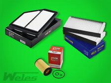 SERVICEPAKET HONDA CR-V II FR-V BE 2,2 CTDi Luftfilter Ölfilter Pollenfilter
