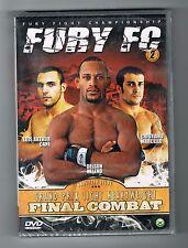 FURY FC 2 - FINAL COMBAT - DELSON HELENO - DVD - NEUF NEW NEU