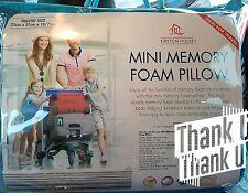 Miini Memory Foam Pillow ( Ideal for Travel)  25cmx31cmx10/7cm