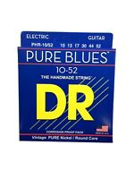 DR Guitar Strings Electric Pure Blues Vintage Pure Nickel 10-52