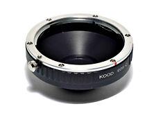 C Mount an Canon EOS Objektiv Adapter
