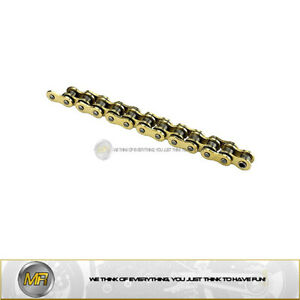 TRIUMPH TIGER 800 FROM 2010 TO 2014 CHAIN RTG1 525 - 122 LINKS GOLD COLOR