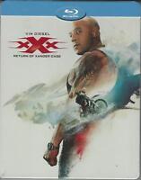 BLU RAY :  XXX IL RITORNO DI XANDER CAGE  EDIZIONE STEEL BOOK  NUOVO SIGILLATO