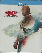 BLU RAY :  XXX RETURN OF XANDER CAGE  EDIZIONE STEEL BOOK  NUOVO SIGILLATO