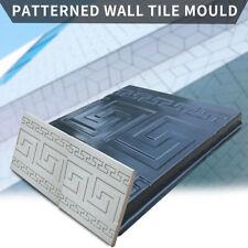Concrete Molds Plaster Wall Stone Cement Tiles P-ath Paving Pavement Mould Maker