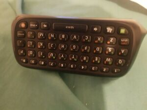 Microsoft Xbox 360 Official black  Chatpad Messenger Pad ( FREE POSTAGE)
